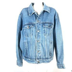 Vintage Wrangler Hero Cowboy Denim jacket *stain